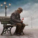 Lettera di un padre anziano al figlio